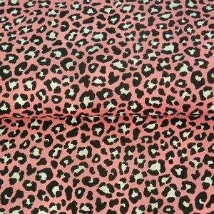Stenzo: panterprint roze met zwart en wit