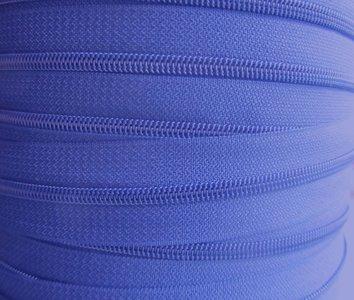 rits aan de meter, kobaltblauw 4mm