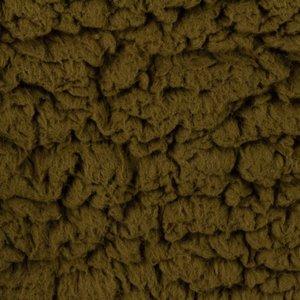 kunst-schapenvacht: bijzonder zachte lekker dikke rekbare stof, echte knuffelstof! legergroen