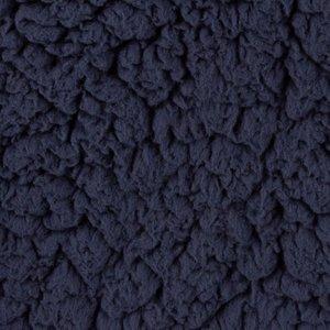 kunst-schapenvacht: bijzonder zachte lekker dikke rekbare stof, echte knuffelstof! donkerblauw