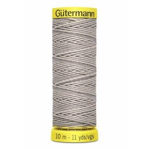 Gütermann rimpelelastiek grijs 10 meter