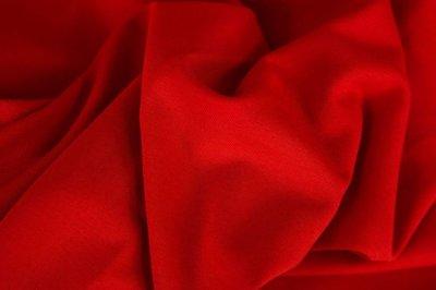 Eike: sweattricot helder rood van Swafing
