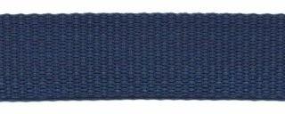 stevig tassenband 2 cm breed, marineblauw