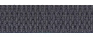 stevig tassenband 2 cm breed, donkergrijs