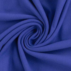 Maike: french terry kobaltblauw van Swafing