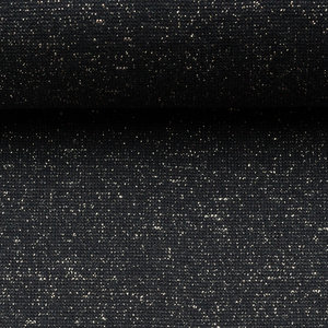 Glamour boordstof zwart