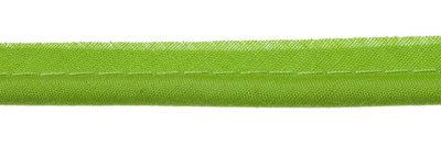 paspelband gifgroen met 4mm dik koord