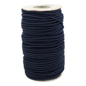 koordelastiek donkerblauw 3mm