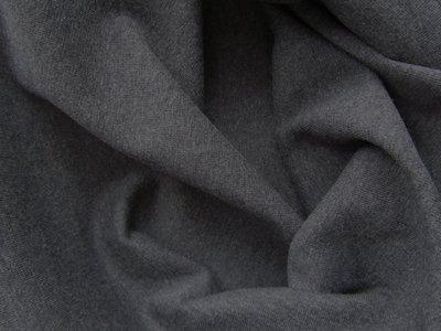 coupon 50 cm: fijne boordstof grijs gemêleerd