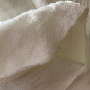 Plüsch, lekker zachte pluche stof van Swafing, gebroken wit