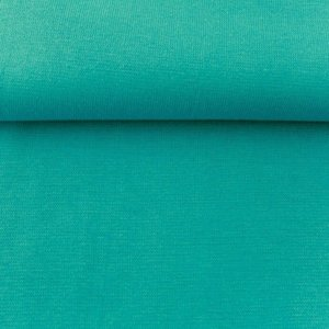 fijne boordstof smaragd of donker mint