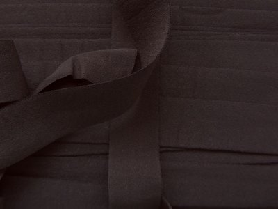 omvouwelastiek 2 cm donkergrijs