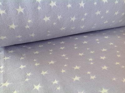 boordstof met geweven ster: lila