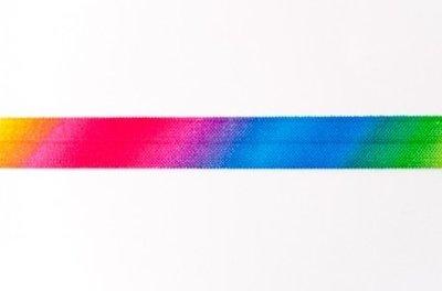 omvouwelastiek regenboogkleuren