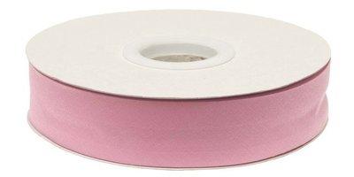 biaisband 20 mm, roze