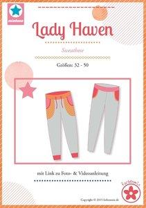 Lady Haven, smalle joggingbroek in de maten 32, 34, 36, 38, 40, 42, 44, 46, 48, 50