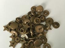 snaps bronskleurig glanzend ster: kleur 12