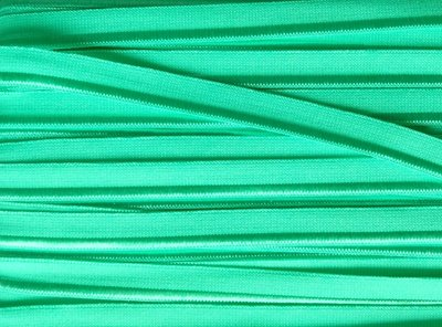 elastisch paspelband,  lichtgroen-mint