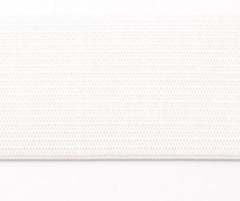 Mooi soepel redelijk dun tunnel-elastiek wit 4 cm breed