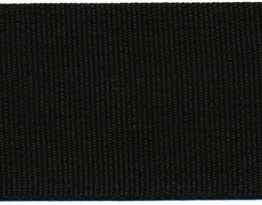 stevig tassenband 5 cm breed, zwart