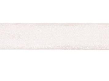glitterband 25 mm, wit