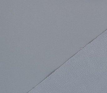 softshell lichtgrijs (passend bij de pinguins), NANO