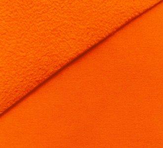 Bora: lichtgevend neon oranje: High-tech softshell: wind- en waterdicht!