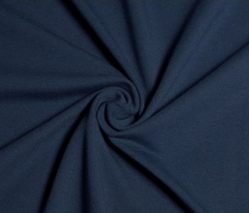 KIM: extra brede wintertricot donkerblauw met meer stretch