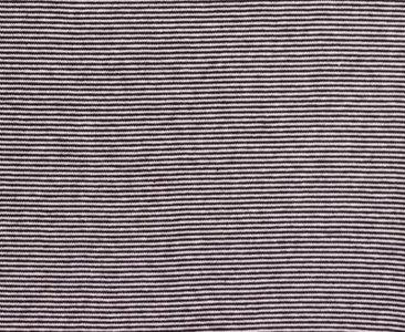 fijne boordstof zwart/witte streep 2 mm (heel smal streepje)