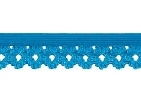 elastisch kantje, turquoise