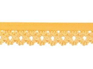 elastisch kantje, geel