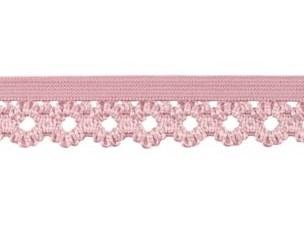 elastisch kantje, oud lila (bijna oud-roze)