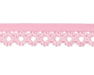 elastisch kantje, roze