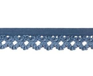 elastisch kantje, jeansblauw