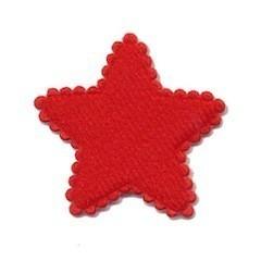 sterretje vilt rood