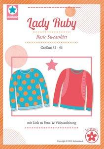 Lady Ruby, patroon van een shirt van MiaLuna (introductiekorting)