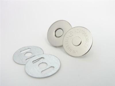 magneetsluiting 18mm zilverkleurig superdun!!