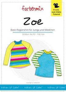 ZOE, heel fijn raglan T-shirt, vernieuwd! introductiekorting