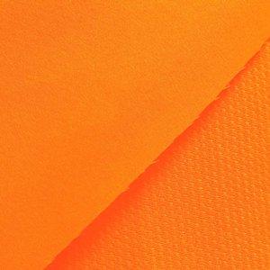 Dunne softshell neon-oranje: wind-, waterdicht en ademend!