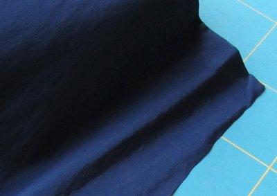 taslan jassenstof diep donkerblauw