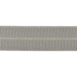 grijs: omvouwelastiek 2 cm breed met ribbeltje