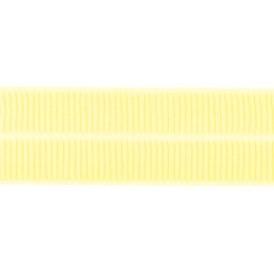 geel: omvouwelastiek 2 cm breed met ribbeltje