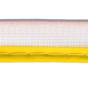 reflecterend paspelband geel
