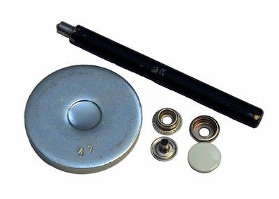 Gereedschapssetje voor metalen drukkers 15 mm
