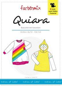 Quiara, shirt of shirtjurk in de maten 86/92, 98/104, 110/116, 122/128, 134/140, 146/152, 158/164.