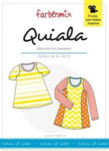 Quiala, basisshirt of longshirt met variaties in de maten 34/36 t/m 50/52