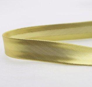 biaisband 15 mm warm goud