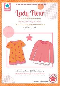 Lady Fleur, shirt voor dames in de maten 32 t-m 46