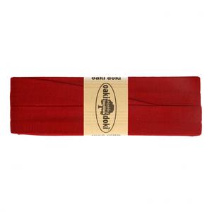 3 meter tricot biaisband donkerrood/bordeauxrood