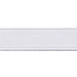 elastiek wit 2 cm